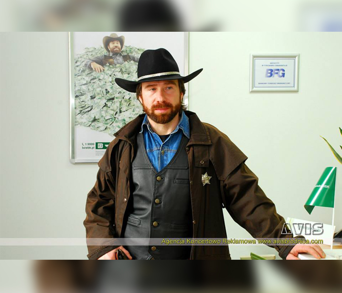 Agencja Sobowtórów polski Chuck Norris, chuck norris